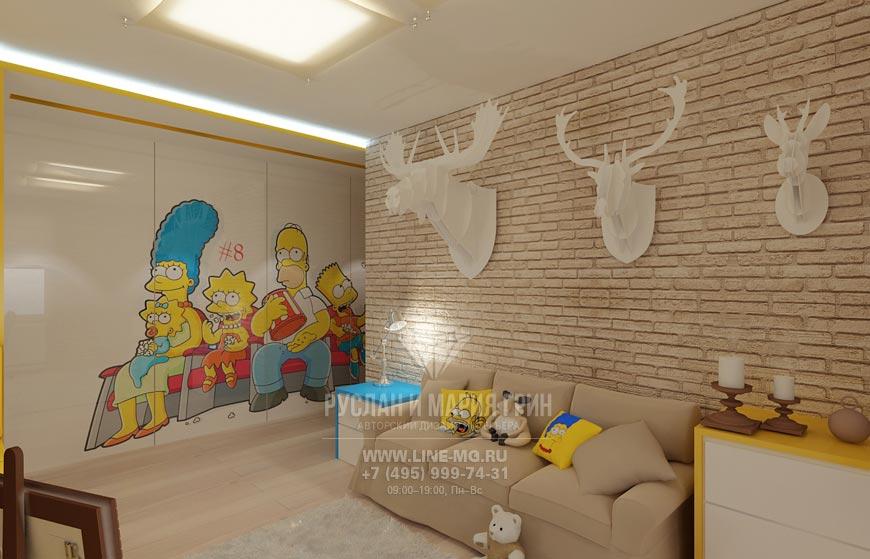 Дизайн детских комнат фото 2016-2017 современные идеи