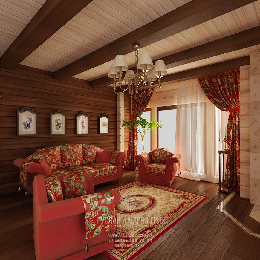 Фото интерьеров гостиных в загородном доме