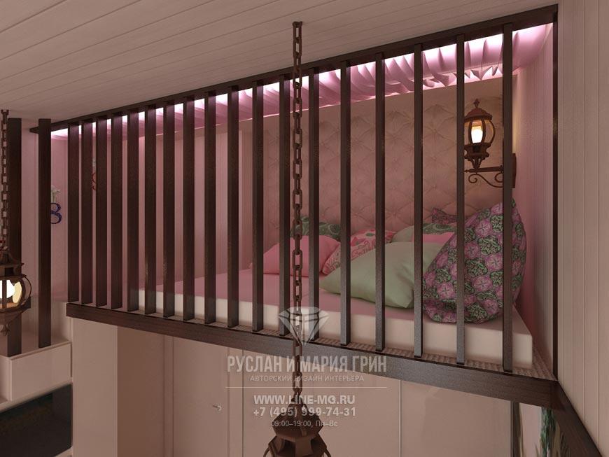Фото интерьера игровой комнаты для детей в экостиле