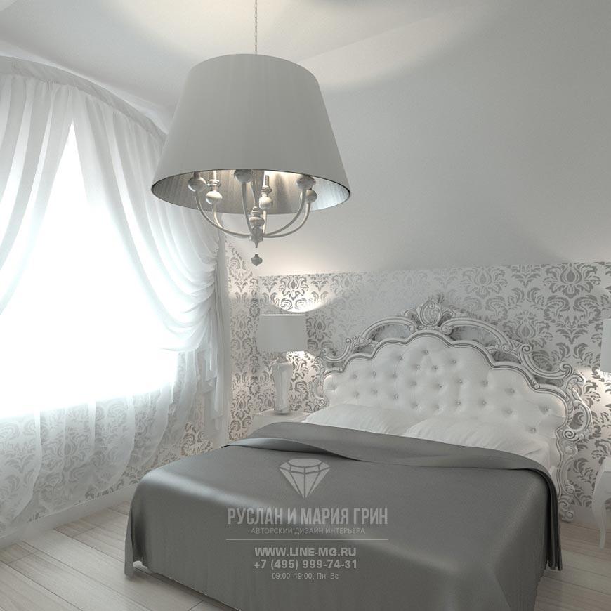 Фото новинка 2015: Интерьер спальни в нейтральных тонах