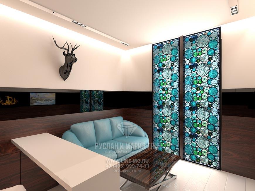 Фото интерьера кабинета в стиле минимализм