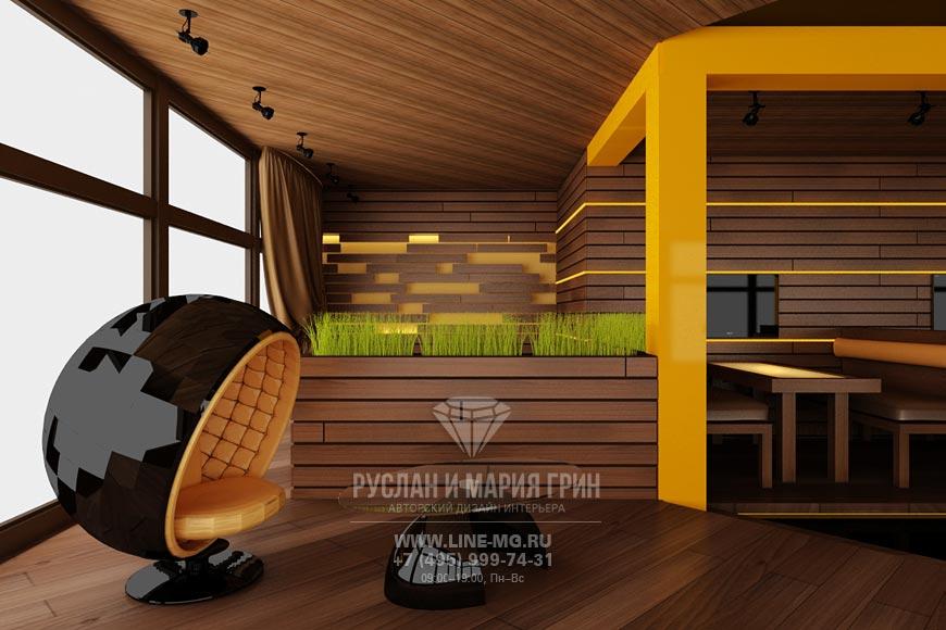 Дизайн ресторана Стейк Хаус