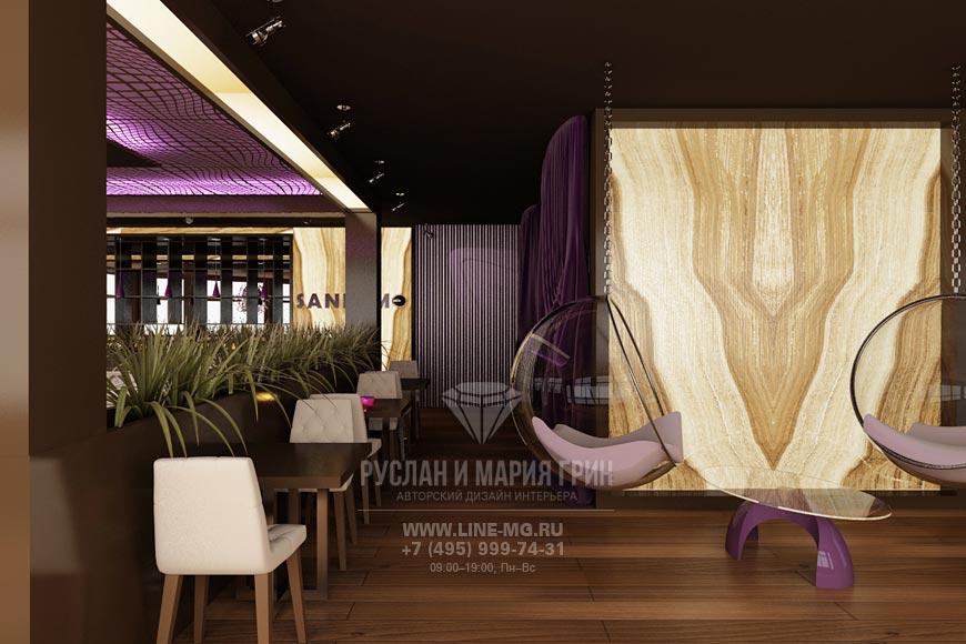 Дизайн ресторана в Куркино: фото интерьеров 2015