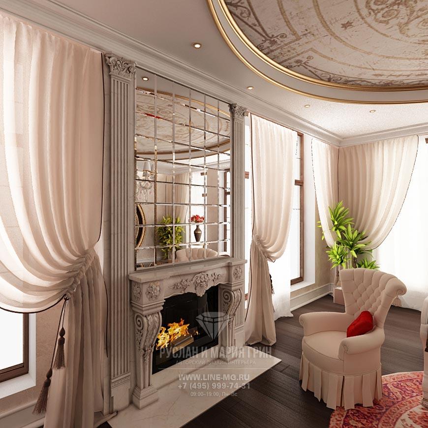 Дизайн гостиной с камином. Современные идеи