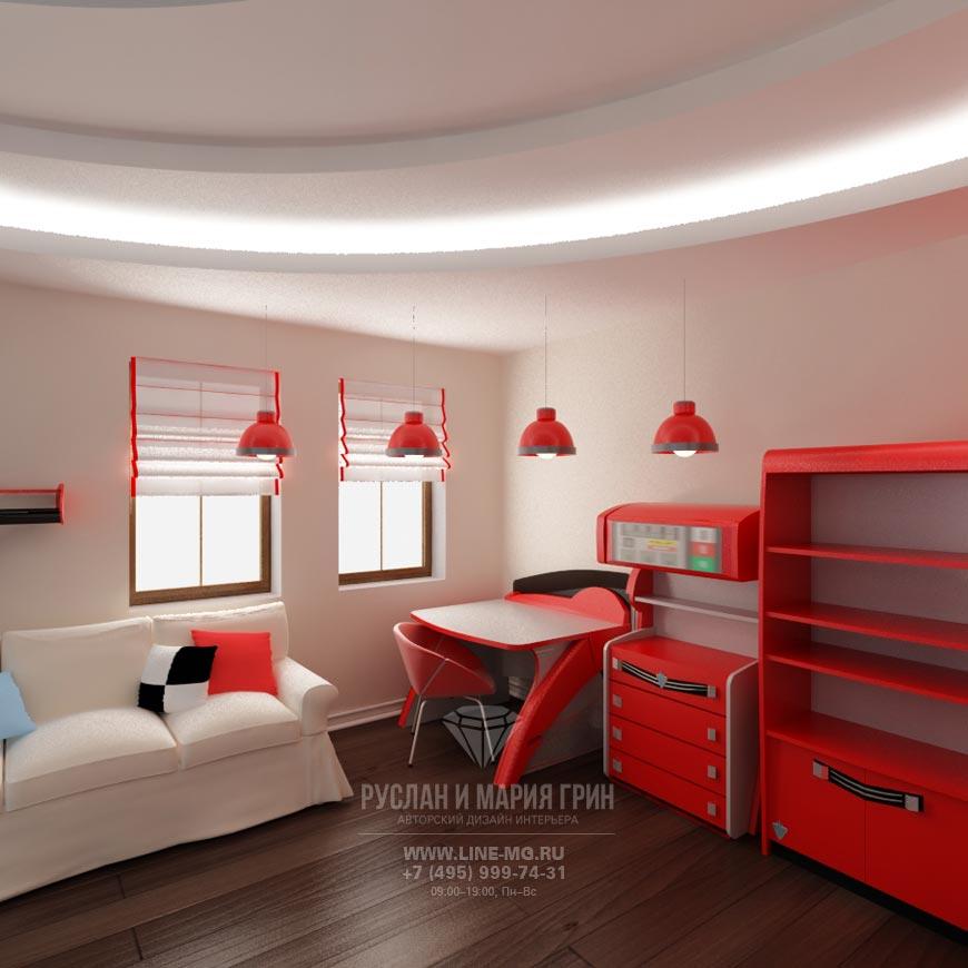 Новинка 2015: Фото интерьера детской комнаты для мальчика