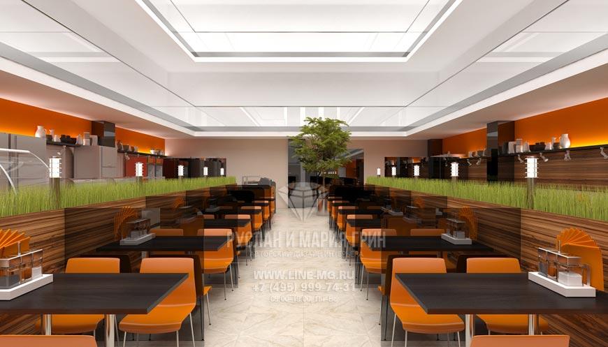 Дизайн кафе быстрого питания фото