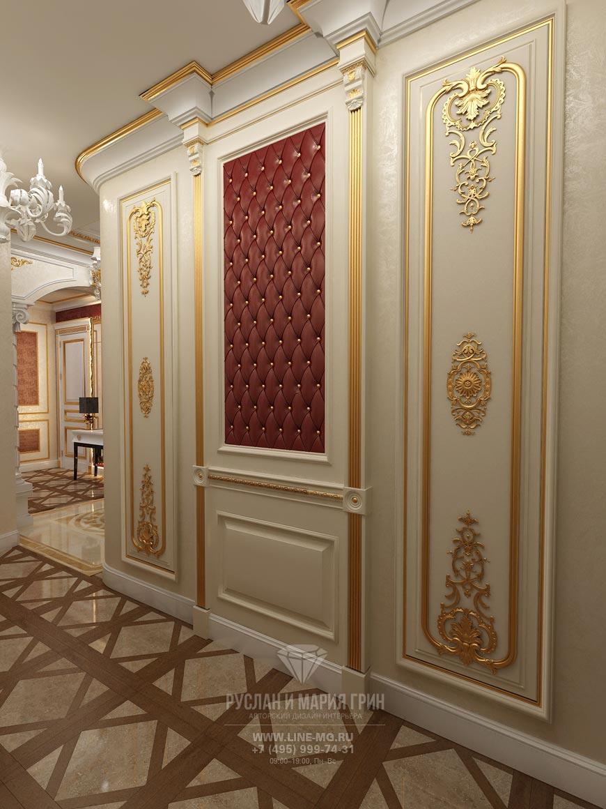 дизайн прихожей в классическом стиле фото в квартире