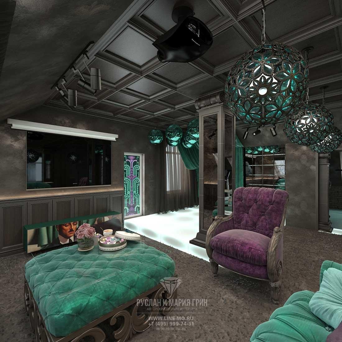 Дизайн мансарды с двускатной крышей: 22 фото видео