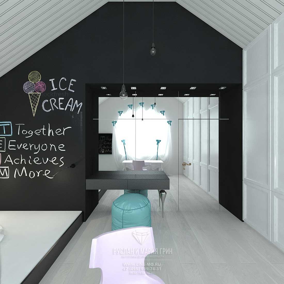 Дизайн гостевой детской комнаты для девочки. Фото и новинки 2015