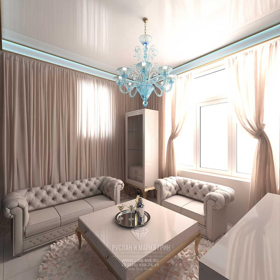 Фото интерьера комнаты отдыха в доме с мансардой