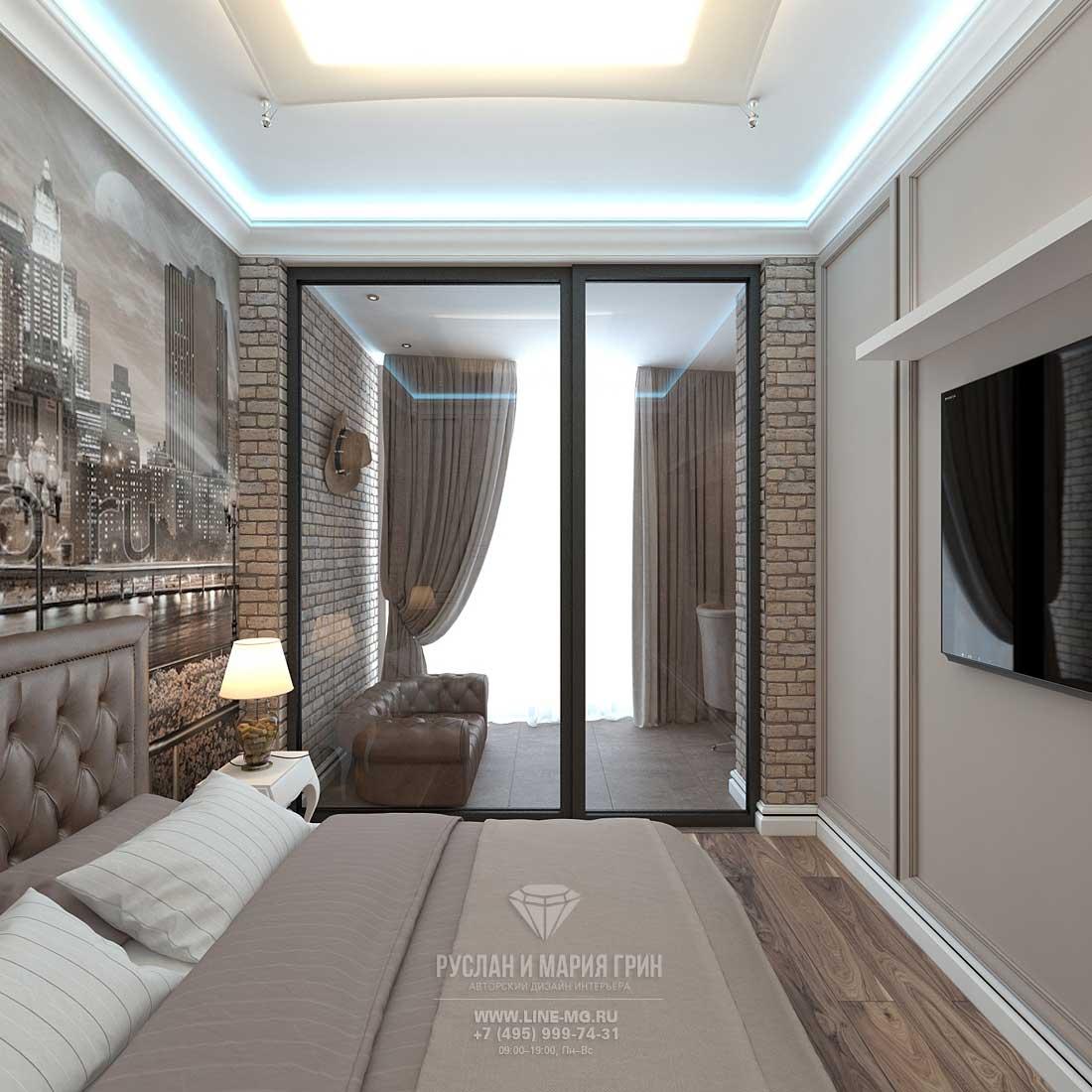 Дизайн детской комнаты для мальчика 10 лет. Квартира в ЖК «Сколково Парк»