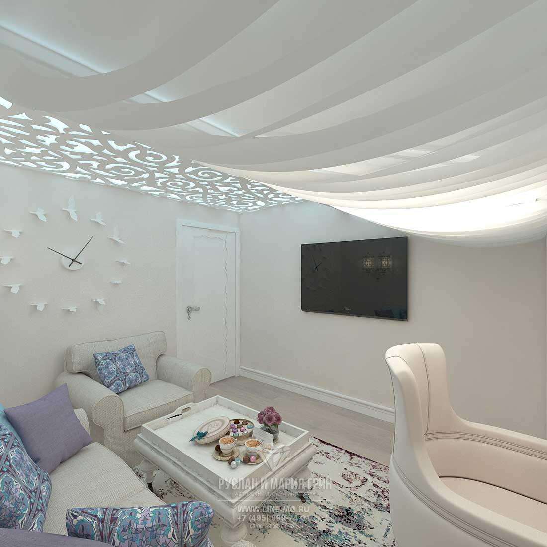 Идея дизайна мансарды в таунхаусе