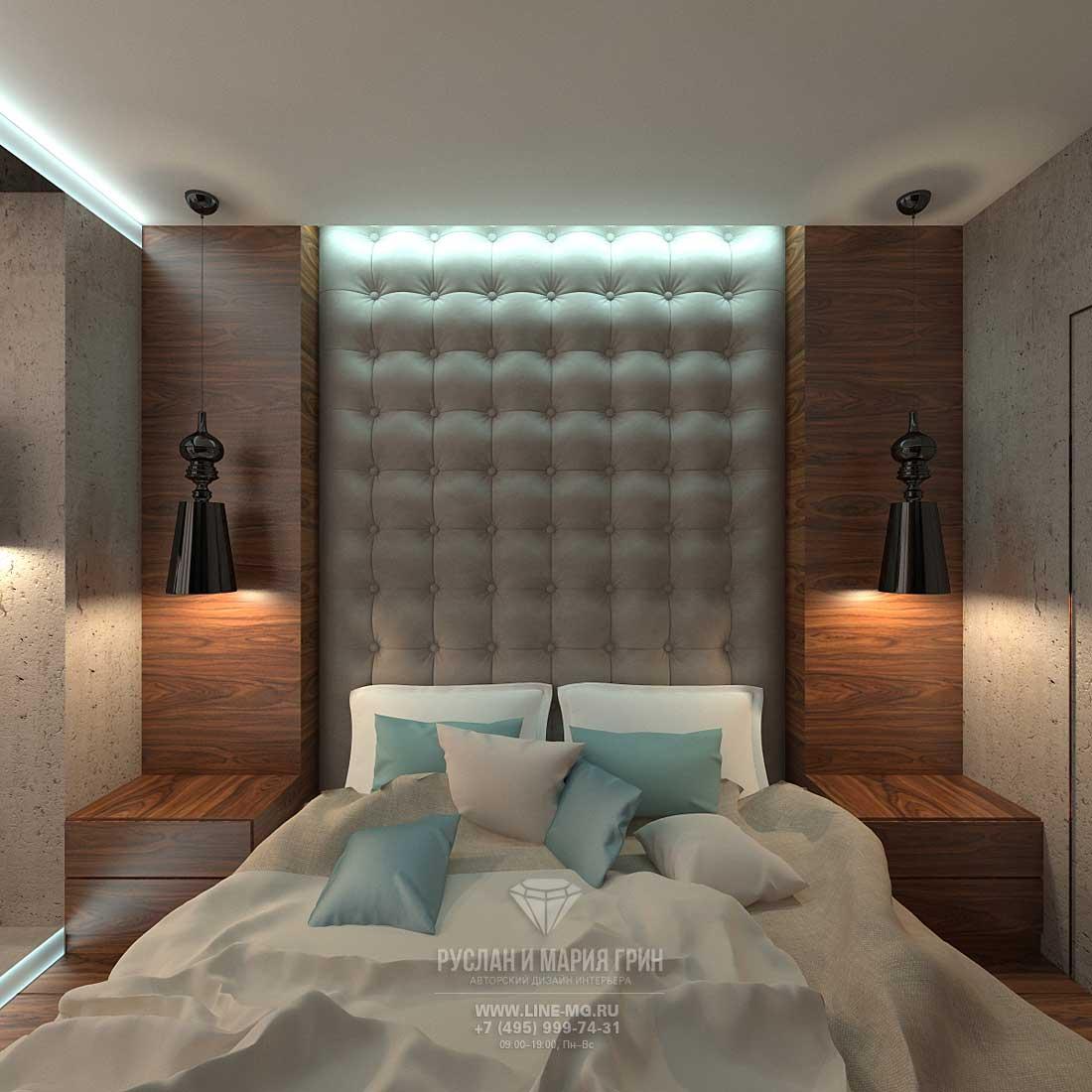 Дизайн современной спальни. Фото 2015
