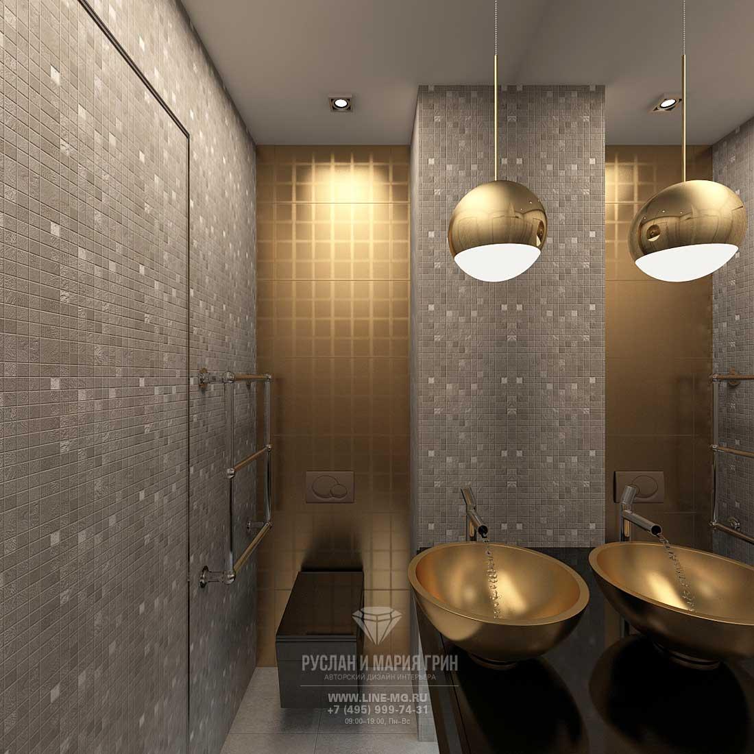 Фото интерьера ванной комнаты: современные идеи