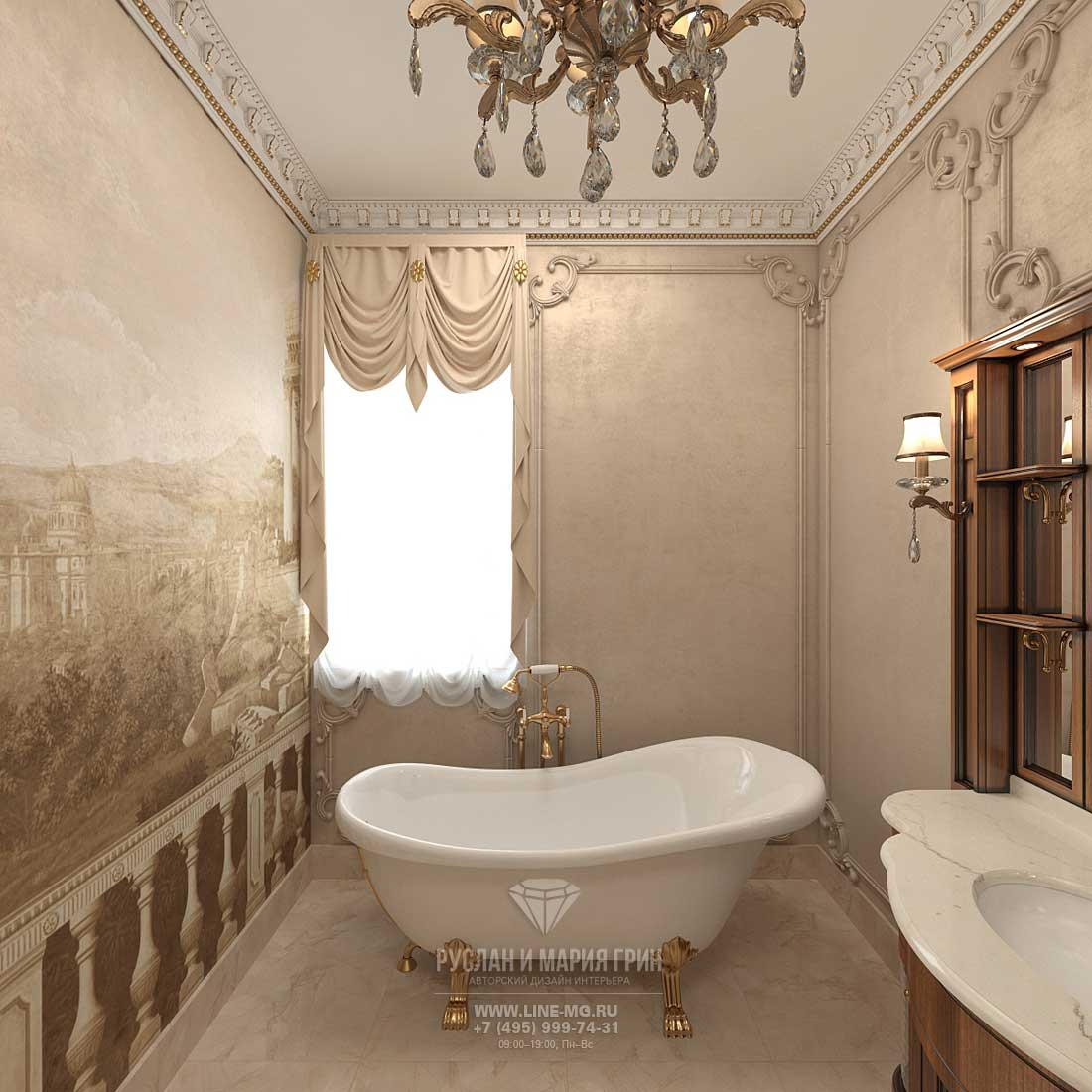 Фото интерьера ванной комнаты 2015