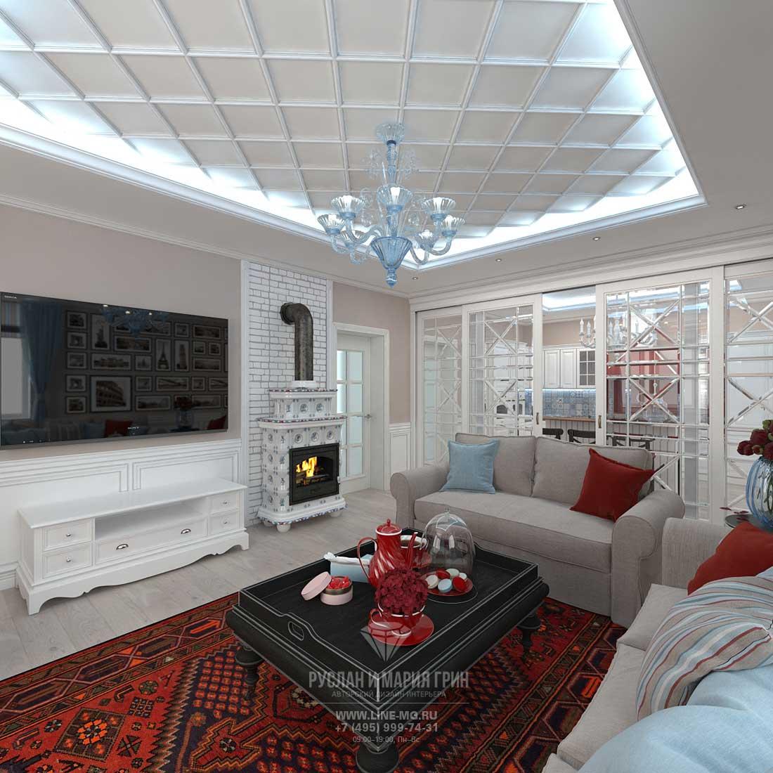 Идеи дизайна современной гостиной