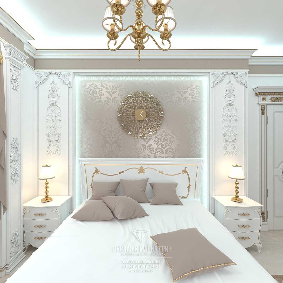 Дизайн белой спальни: фото 2015